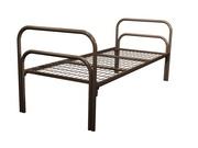 Кровать одноярусная с двойной ножкой С-2У2 + 2 усиления