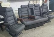 сиденья для микроавтобуса устанавливают  в автомобили VIP к
