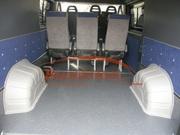 Защита колёсных арок в салоне микроавтобуса Мерседес Бенц Спринтер