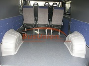 Накладки колёсных арок в микроавтобус Пежо Боксер,  Фиат Дукато БасЮнио