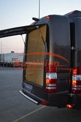 Навесной рюкзак багажник на микроавтобус Форд Транзит на целиковой рам