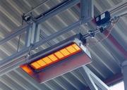 Инфракрасный газовый излучатель (светлого типа)